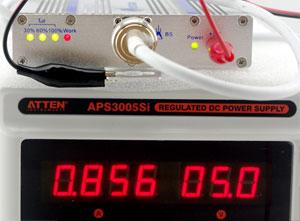 坤若手机信号放大器KR-G23功耗测试